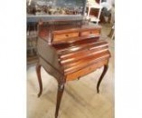 French Bureau Napoleon III rosewood and maple