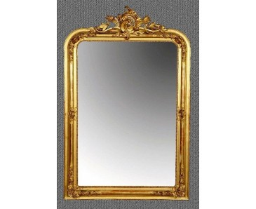 French Mirror Antique Gilt