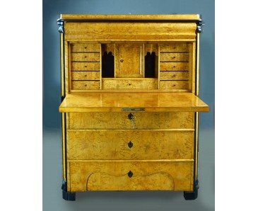 Swedish Biedermeier Secretaire of Small Dimensions