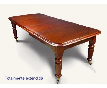 Antique Dining table - Solid Mahogany - SOLD