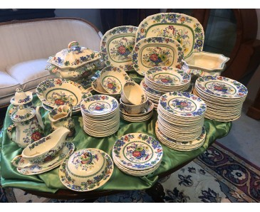 Large Masons Ironstone Dining Service  - SOLD