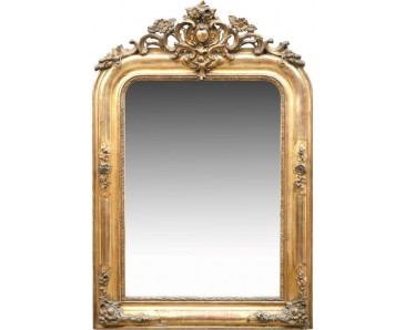 Antique Giltwood Mirror 19th century