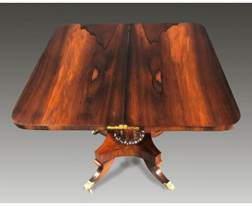 Regency Rosewood Tea and Games table