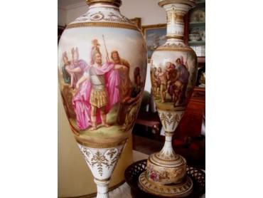 Vienna Porcelain Lamp