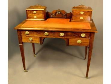 Antique Rosewood Dickens Desk