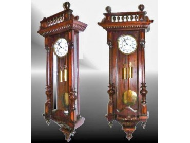 Antique Regulator Clock - Vienna