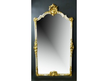 Antique French Tall Mirror