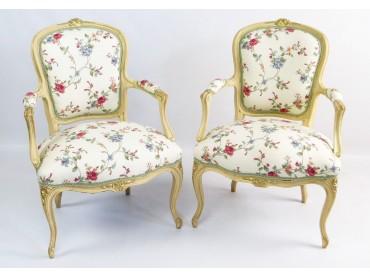 Louis XV style Petites Bergeres