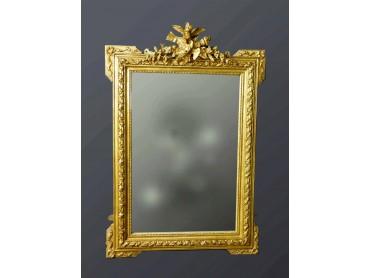 Antique French Mirror - 19th Century