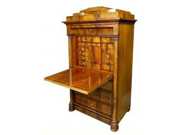 Antique Biedermeier Secretaire - Early 19th Century