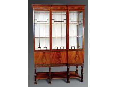 Antique Display Cabinet Vitrine