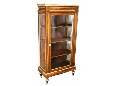 Display Cabinet French Petite Vitrine Directoire 18th Century Kingwood