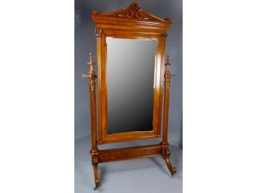 Cheval Mirror 19th Century- Museum Quality