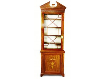 Antique Display Cabinet Bookcase  of Small Dimensions