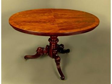 Antique Centre Table Louis Philippe