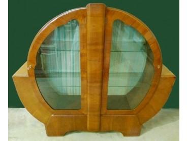 Art Deco 2 door Display Case