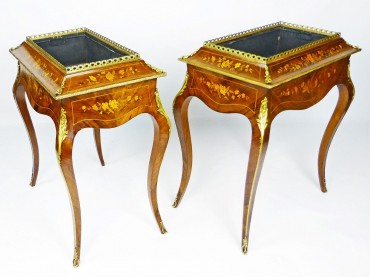 Jardiniere Pair in the Louis XV Style