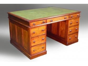 Antique English Partners Desk