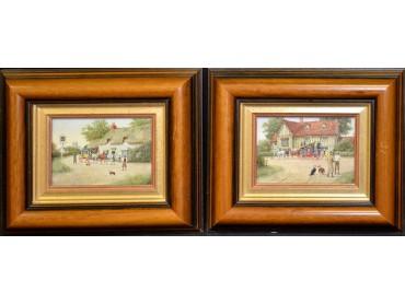 Richard Reed Simm - Pair of Paintings - SOLD
