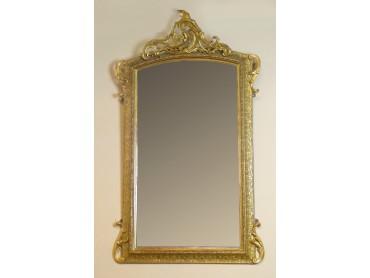 Antique English 19th Century Gilt wood Mirror