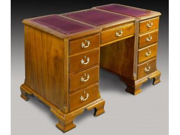 Antique Victorian Desk - Solid Mahogany