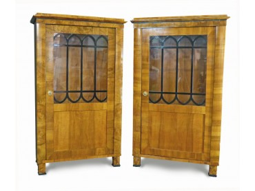 Pair of Biedermeier Bookcases 1830 - SOLD