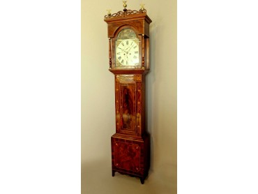 English Antique Longcase clock - signed P. Jopling