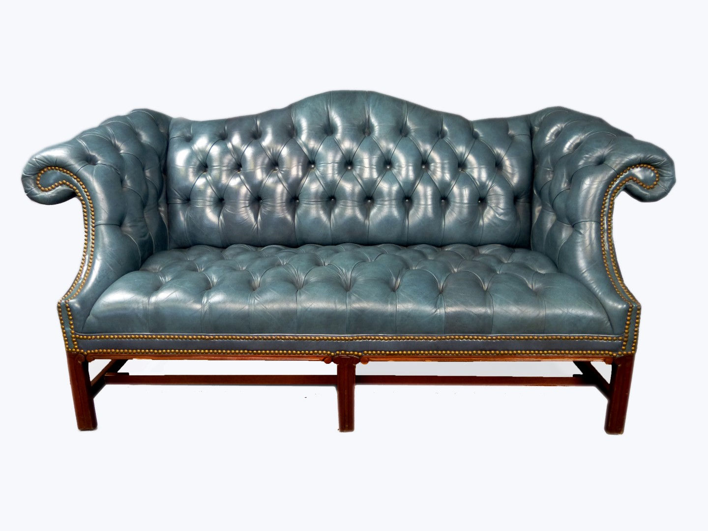Chippendale Style Chesterfield Sofa