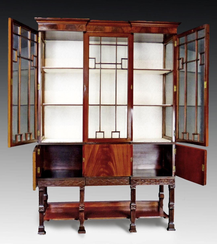 ... Antique Display Cabinet Vitrine ... - Antique Furniture Antique Cupboards Antique Tables Antique