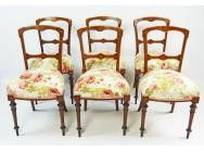 Set of 6 Antique Dining Chairs - SOLD
