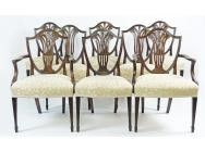 Antique Dining Chairs - Set of 8 - SOLD