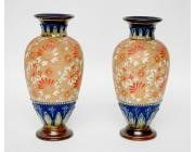 Pair of Doulton Vases