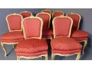 Dining Chairs Louis XV style - Set of 8 - SOLD