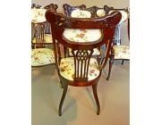 Dining Chairs Art Nouveau - Set of 8 incl. 2 Armchairs