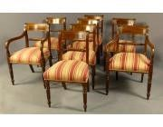 Antique Dining Chairs Regency
