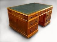 Victorian Mahogany Partners' Desk - SOLD