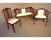 Antique Dining Chairs for 8