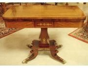 Regency Games Table - Cuban Rosewood