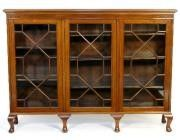 Antique Edwardian bookcase 3 doors - SOLD