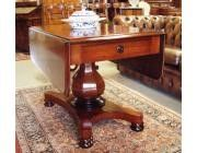 Antique Biedermeier Dropleaf Table
