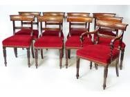 Antique Dining Chairs - set of 9 - SOLD