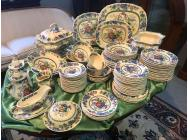 Large Masons Ironstone Dining Service