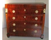 Biedermeier Chest of Drawers -Empire Influence-SOLD