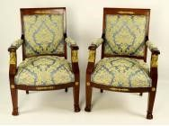 Swiss Empire Armchairs - 1800