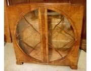 Art Deco Display Case - Circle in Square