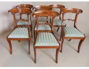 Regency dining Chairs set of 6