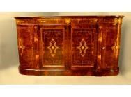 Victorian Sideboard Marquetry