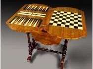 Games Sewing Table Victorian