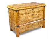 Antique Biedermeier Commode of Tiger Maple - OFFERS WELCOME