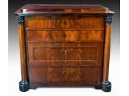 Antique Biedermeier Danish Commode